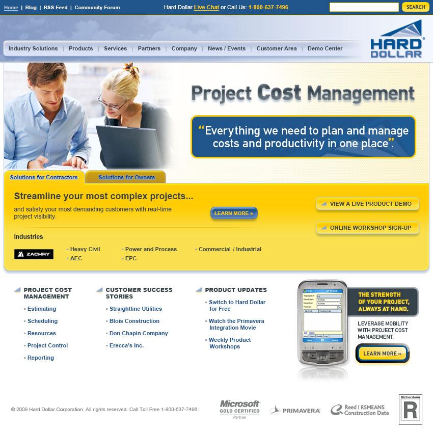 Hard Dollar Website