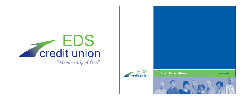 EDS Credit Union Logo & Brand Guide