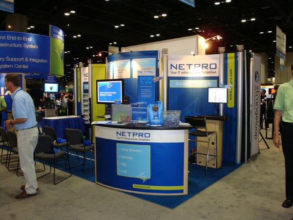 NetPro Tradeshow Booth