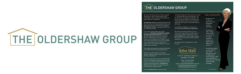 The Oldershaw Group Logo and Brochure