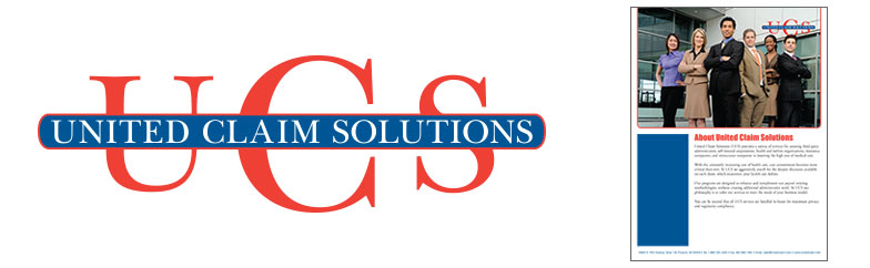 United Claim Solutions Logo and Brochure